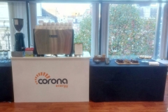 Barista Corona Branded Stand