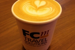 FCM Travel Solutions Branded Coffee Cups