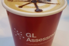 GL Assessments Branded Coffee Cups