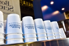 Boston Scientific Branded Coffee Cups Stacked Up