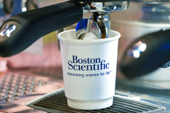 Boston Scientific Branded Coffee Cups