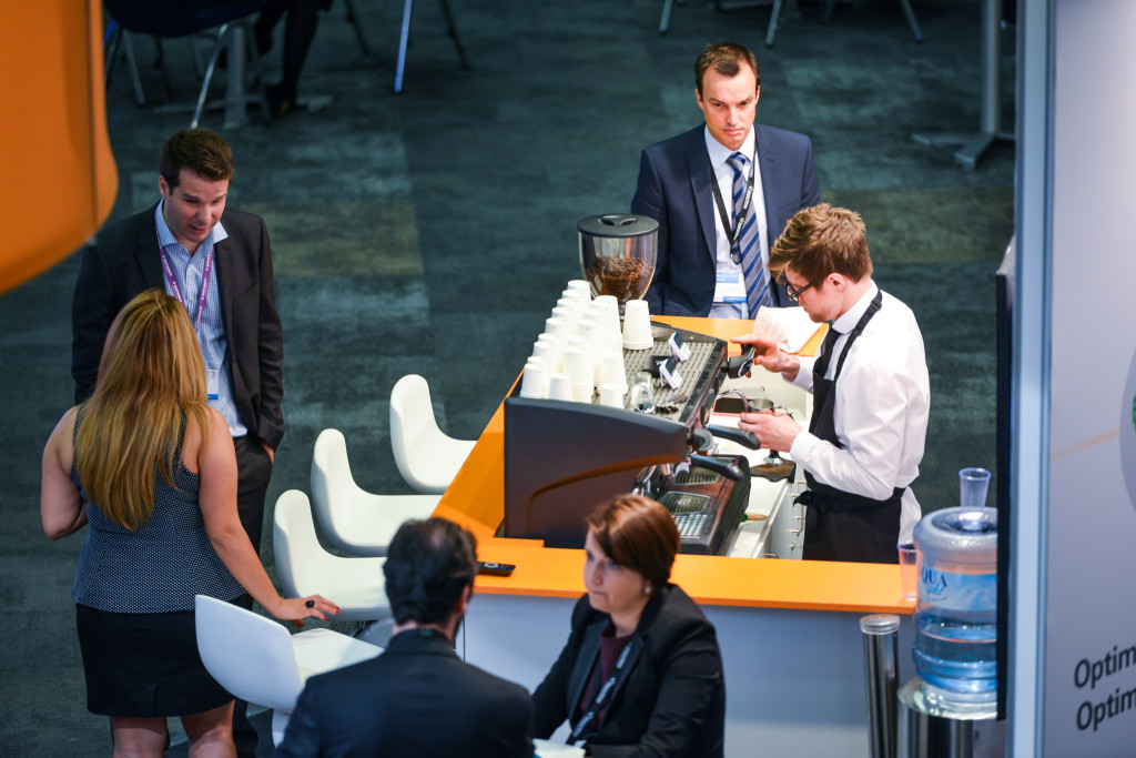 Exhibition Stand Gimmicks : Make your exhibition stand…out the barista