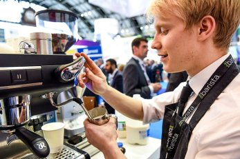mobile coffee for product launches