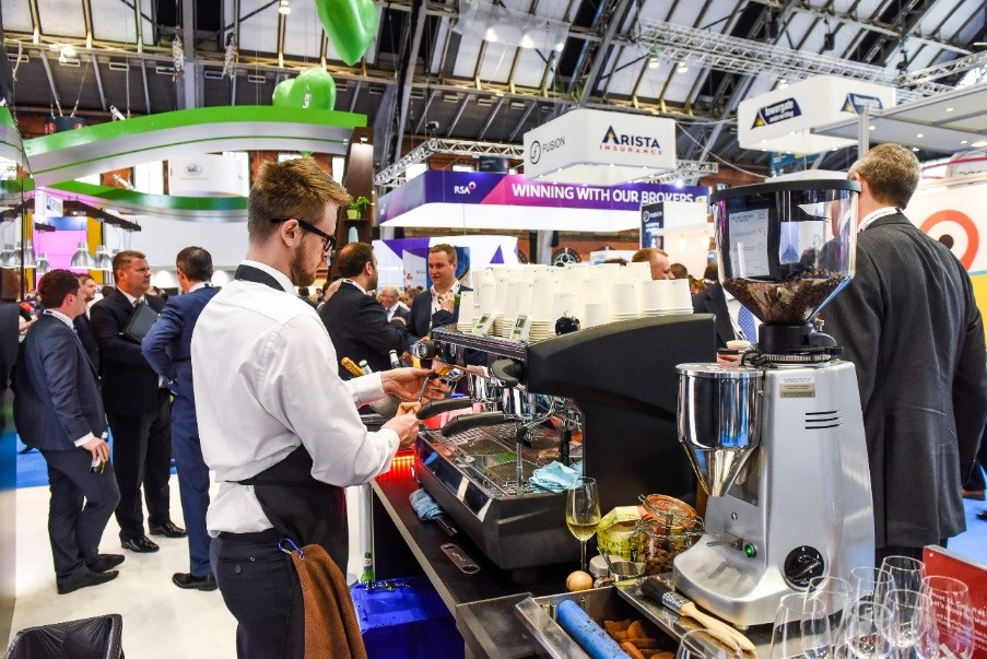 mobile coffee for exhibitions