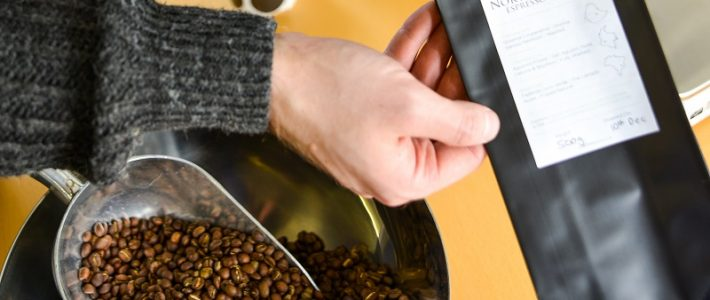 What goes into roasting our signature blend coffee?