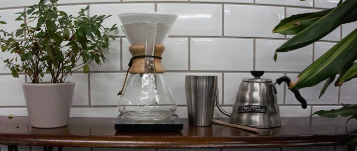 The art of the Chemex and making our morning coffee