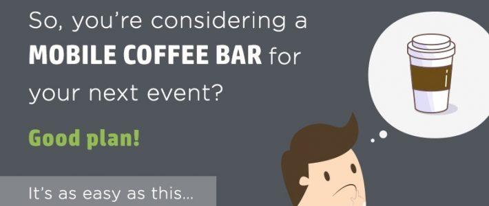 Infographic: Increase footfall with a mobile coffee bar