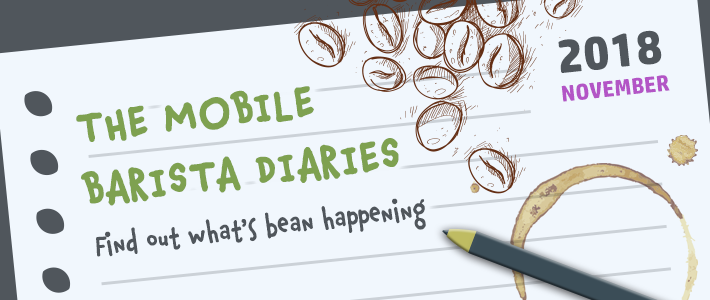 The mobile barista diaries: Edition one