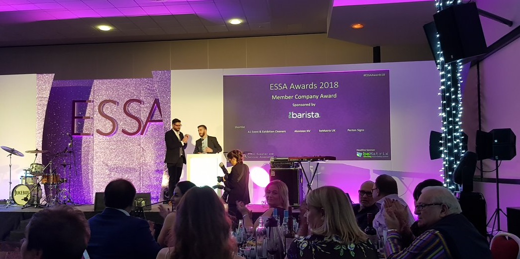 essa awards 2018 the barista sponsoring award