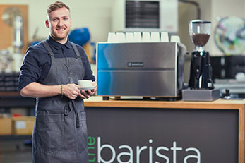 coffee bar and barista hire for offices