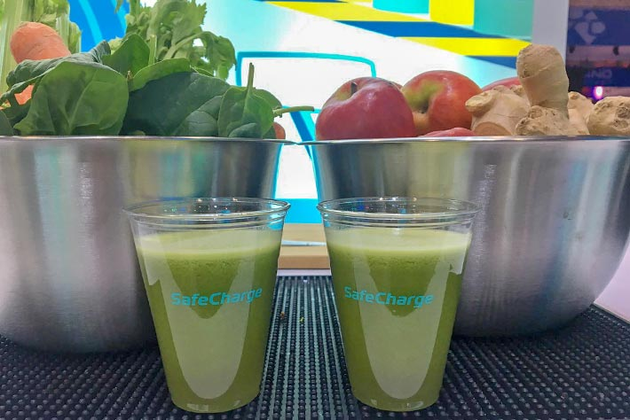 juices and smoothies for events