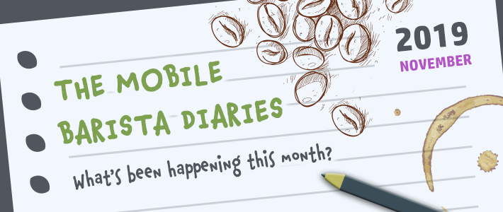 The mobile barista diaries: Edition 5